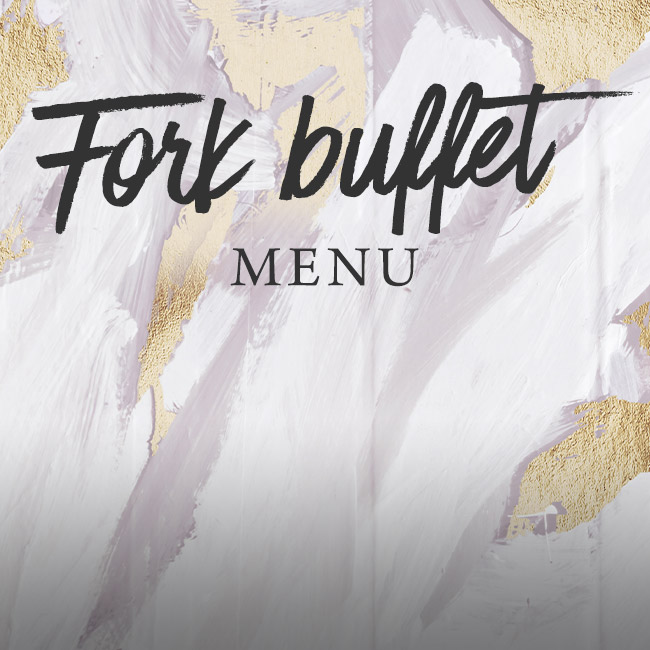 Fork buffet menu at The Gate