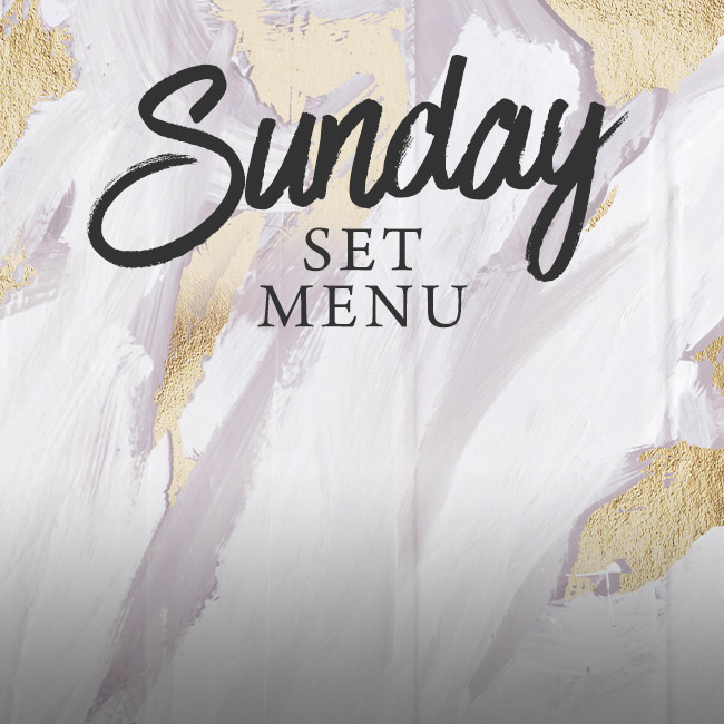 Sunday set menu at The Gate