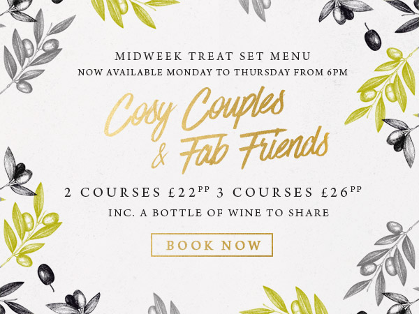 Midweek treat at The Gate - Book now